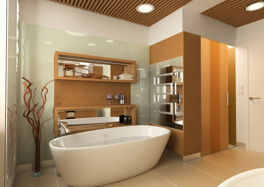 Design of the bathroom